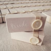 RUSTIC WAX SEAL FAVOR BOX