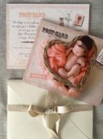 LITTLE BABY GIRL POST CARD
