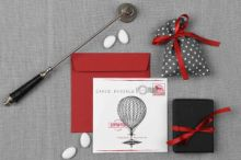 CARTE POSTALE BALLOON INVITATION