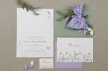 ROMANTIC PASTEL NATURE 01 INVITATION