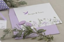 ROMANTIC PASTEL NATURE 02 INVITATION