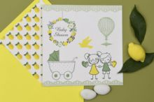 FUNKY LEMON STORΥ INVITATION