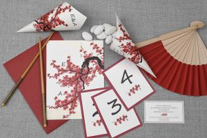 CHERRY BLOSSOM SENSE INVITATION