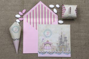 STYLISH FAIRY TALE PRINCESS INVITATION