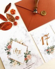 FLORAL CHIC & WAX SEAL INVITATION